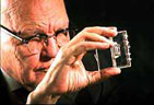 Photo of Jack Kilby, inventor of the integrated circuit.